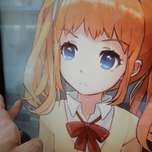 2Dの嫁を3D風にする描画技術「Live2D」 原画の持ち味生かして立体表現