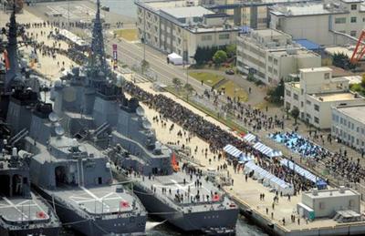 【カレー】イージス艦などが横須賀集結「護衛艦カレーナンバー1グランプリinよこすか」開催