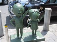 「税金を取られるとは思わなかった」 サザエさん一家の銅像に固定資産税…商店街困惑