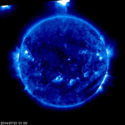 【話題】太陽観測衛星『SOHO』写真に巨大UFO!?「ついにヤツがきたか…」