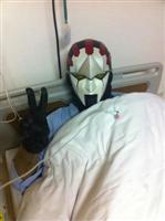 練馬のヒーロー・ネクロマン、尿管結石で緊急入院!