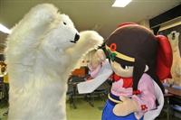 美人すぎるご当地キャラ「蓮花ちゃん」 再びクマに襲われる事件が発生