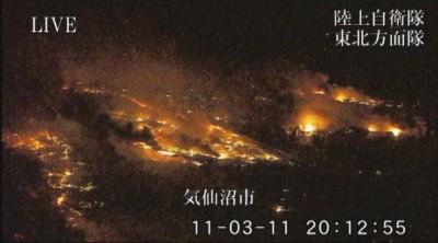 東日本大震災のときのこの写真