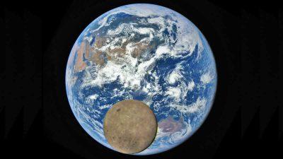 NASA「月が地球に写り込む」年に2回しか撮影できない貴重な写真を公開