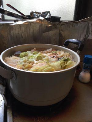 アンコウ鍋作った