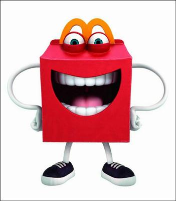 【話題】マクドナルドの新キャラクター「Happy」が怖すぎると話題に