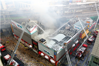 【ゲーセン】JR有楽町駅前火災で3階建てのゲームセンターが全焼
