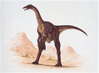 腕だけ見つかっていた謎の恐竜デイノケイルス、胴体を発見、背中に帆があった?