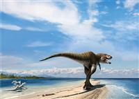 """ティラノサウルス・レックス、新しい親族の名は""""血の王""""/米ユタ州"""