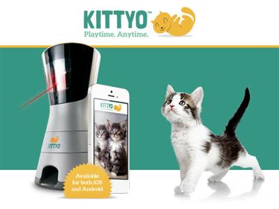 【話題】レーザーポインタを使って留守中のネコを大興奮させつつ安否確認もできるデバイス「Kittyo」( GIGAZINE)