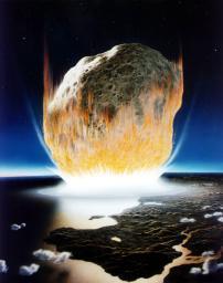 【地学】恐竜などの絶滅は巨大隕石の衝突で発生した酸性雨による海洋の酸性化が原因か、隕石衝突を模した実験で判明/千葉工大など
