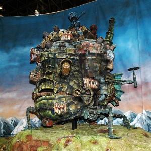 住んでみたいアニメキャラの家 一番人気は「ハウルの動く城」!?