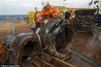 アポロ11号のエンジン、アマゾン・ドットコムのチームが海底からの回収に成功