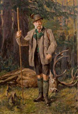 フランツ・ヨーゼフ1世「アカン、山で狩猟してたら道に迷ったンゴ……」