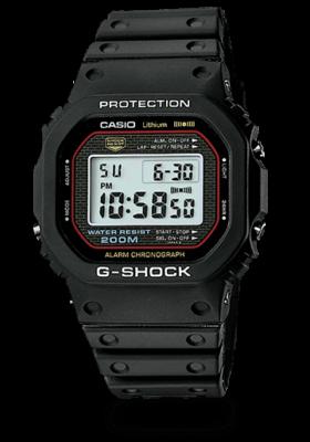 カシオのG-Shock、安価で頑丈かつ高機能、これに勝る時計なし