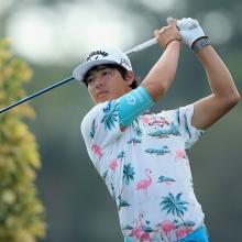 【ゴルフ】石川遼選手のファッションセンスが海外でも物議 「もはや石川のシャツしか目に入らない」
