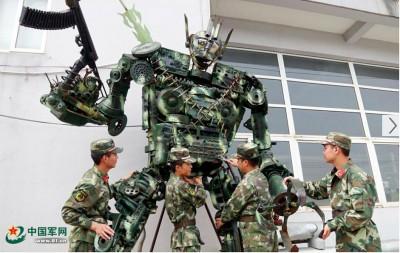 【中国】人民解放軍が「トランスフォーマー」配備!? 自衛隊「ガンダム」に対抗?=中国メディア