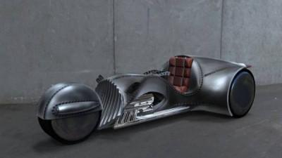 【バイク】スタートレックのカーク船長がデザインしたスーパーバイク、American Wrench社が発表