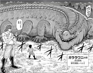 彡(^)(^)「ワイはガララワニ!世界最高ランクのワニ肉や!」