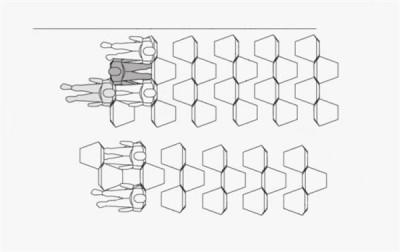 """【話題】さらに窮屈に…悪夢のような""""六角形""""エコノミークラス席、特許を認可"""